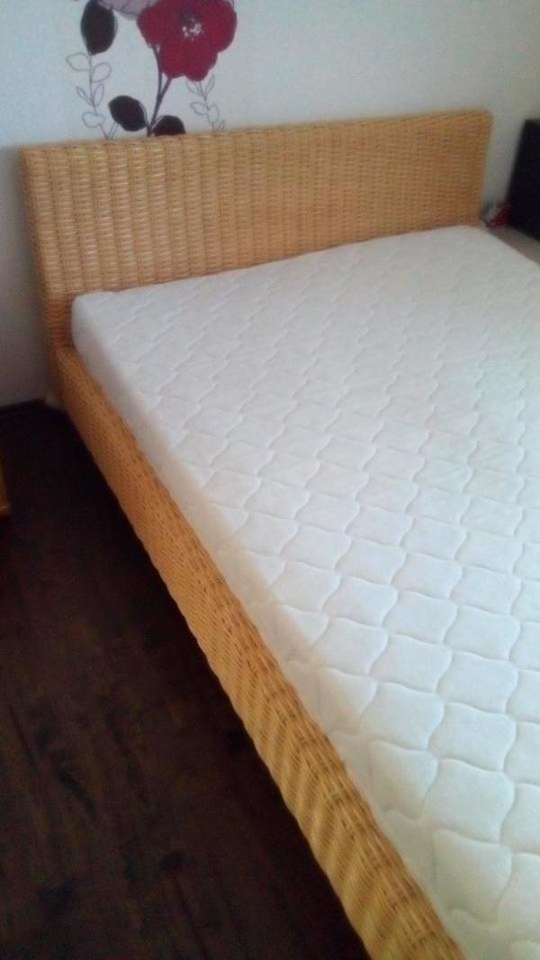 rattan bett gebraucht kaufen nur noch 3 st bis 65 g nstiger. Black Bedroom Furniture Sets. Home Design Ideas