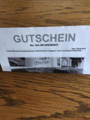 Reisegutschein Hotel Ebertor/
