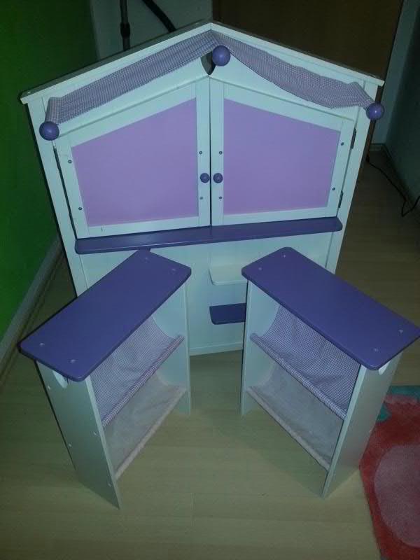 roba kaufladen fienchen wei mit fr sungen im landhausstil. Black Bedroom Furniture Sets. Home Design Ideas
