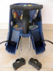 der beliebte r mer sulky fahrradsitz f r vorne montiert. Black Bedroom Furniture Sets. Home Design Ideas