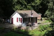 Romantische Hütte im