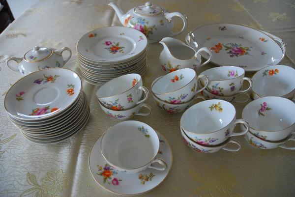 rosenthal kaffee teeservice in pegnitz glas porzellan antiquarisch kaufen und verkaufen ber. Black Bedroom Furniture Sets. Home Design Ideas