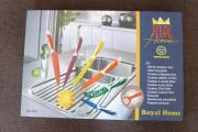 Royal Home Messer-Set mit Antihaftbelag Zu verkaufen ist ein Royal Home Messer-Set mit Antihaftbelag. Das Set besteht aus 6 Haushaltsmessern und 1 Gemüseschäler. Die Messer sind mit einem ... 25,- D-63225Langen Heute, 21:37 Uhr, Langen - Royal Home Messer-Set mit Antihaftbelag Zu verkaufen ist ein Royal Home Messer-Set mit Antihaftbelag. Das Set besteht aus 6 Haushaltsmessern und 1 Gemüseschäler. Die Messer sind mit einem