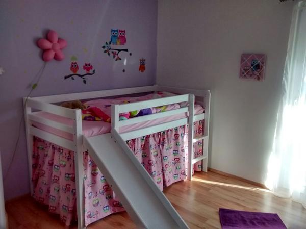 rutsche leiter fuer hochbett in schlins kinder jugendzimmer kaufen und verkaufen ber. Black Bedroom Furniture Sets. Home Design Ideas