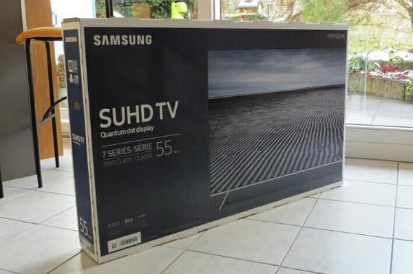 samsung ue55ks7090 suhd tv 55 zoll ks 7090 uhd neu ovp. Black Bedroom Furniture Sets. Home Design Ideas