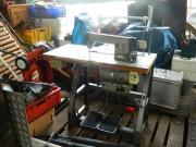 Sattlermaschine , Ledernähmaschine , Deckennähmaschine