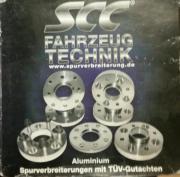 SCC Spurverbreiterung Spurplatten