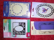 Schablonen zur Kartengestaltung