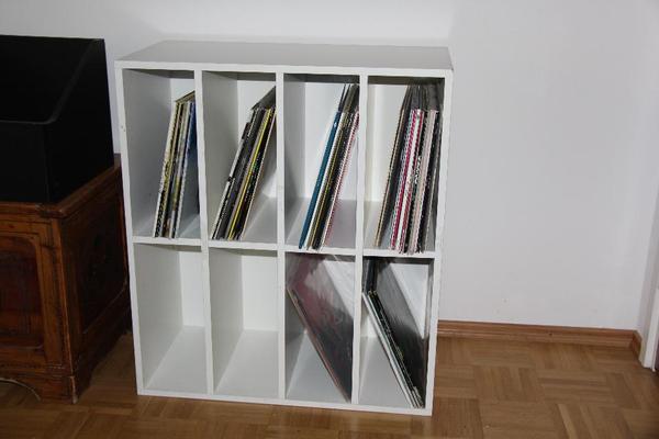 Schallplattenregal weiß München - Phono-, TV-, Videomöbel kaufen ...