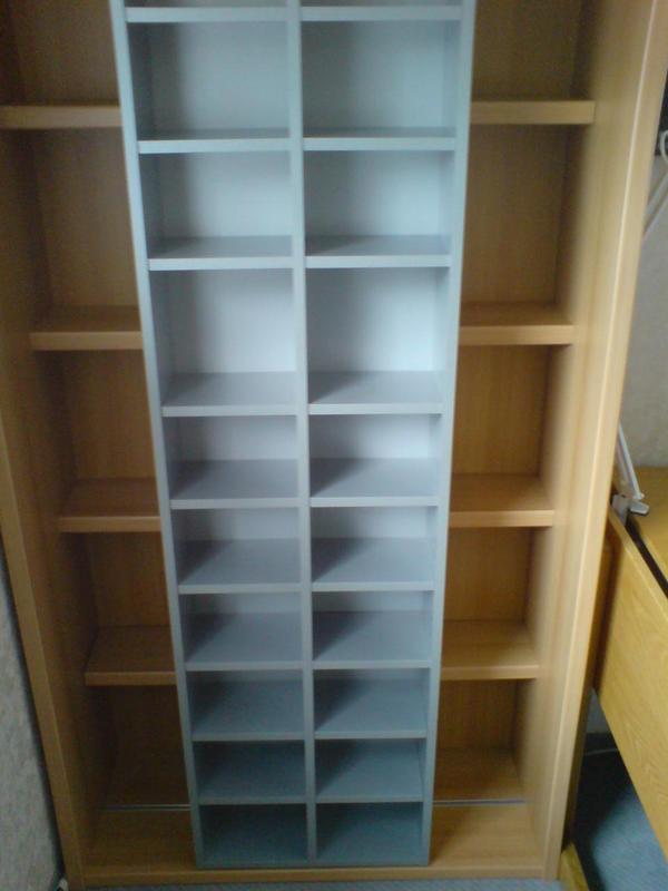 cd dvd video schieberegal in altdorf cds dvds videos lps kaufen und verkaufen ber. Black Bedroom Furniture Sets. Home Design Ideas