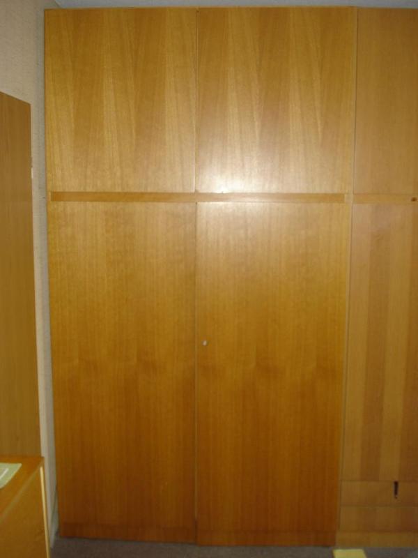 Schlafzimmer schrankwand 1980er jahre zu verschenken aus for Schrankwand 4 meter