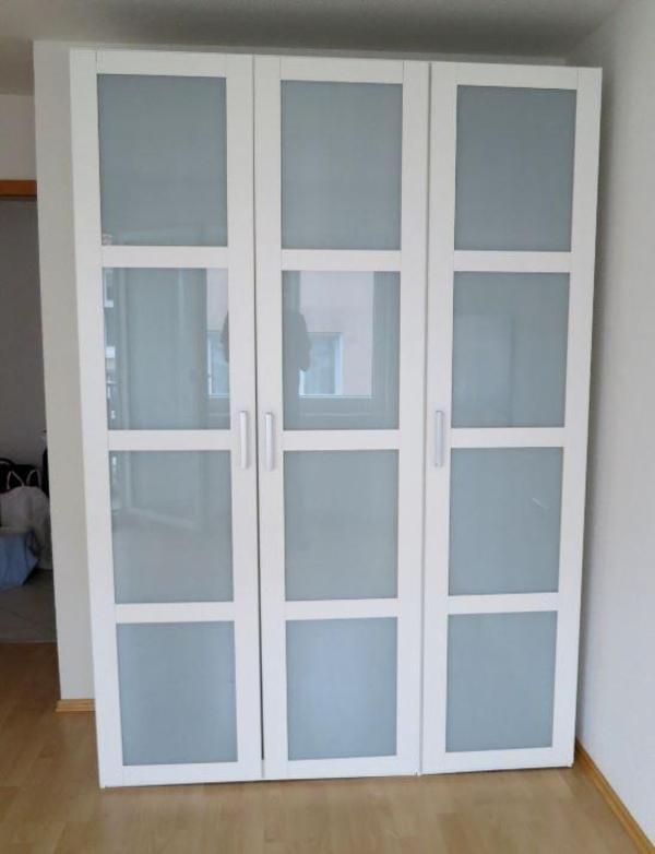 schlafzimmerschrank 3 dreht ren wei glas ca 153 cm