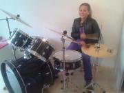 Schlagzeug-Komplettset von