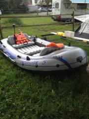 Schlauchboot fischerboot