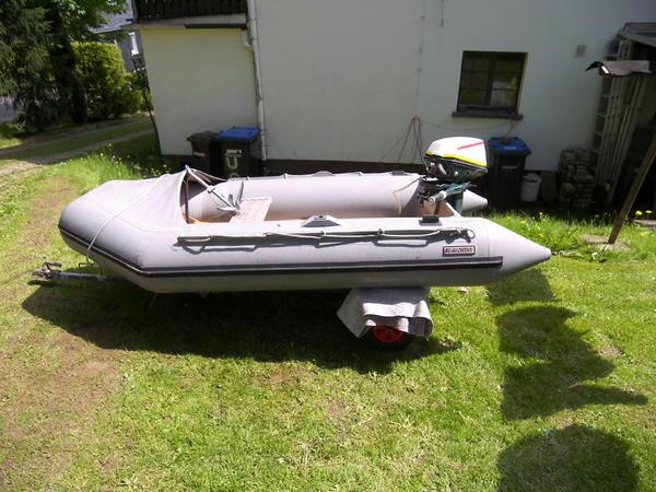 schlauchboot mit motor in dr bischau motorboote kaufen. Black Bedroom Furniture Sets. Home Design Ideas