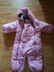 Schneeanzug rosa neu