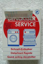Schnellentkalker für Wasch-