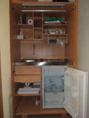 Schrank-Küche, Singleküche,