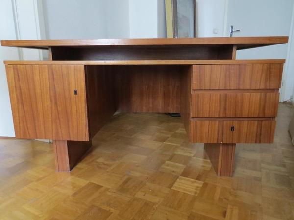 Schreibtisch 70er neu und gebraucht kaufen bei for Schreibtisch 70er jahre