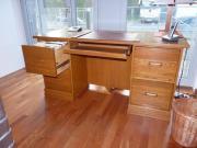 Schreibtisch aus Echt-