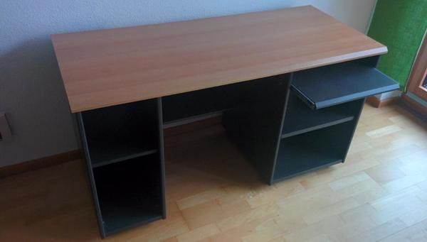 er schreibtisch kaufen gebraucht und g nstig. Black Bedroom Furniture Sets. Home Design Ideas