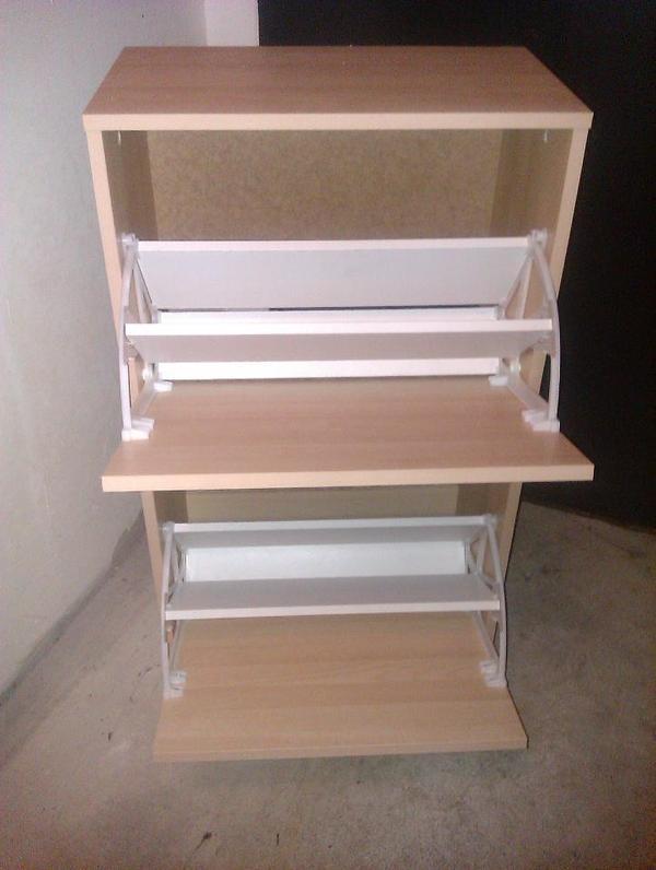 Schuhschrank ikea bissa birke for Ikea schuhschrank