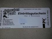Schwaben Park Eintrittskarte
