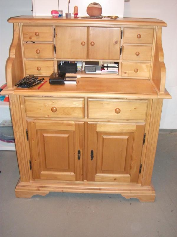 sekret r kiefer honig farben bereit 95 cm tief 48 cm hoch 113cm guter zustand. Black Bedroom Furniture Sets. Home Design Ideas