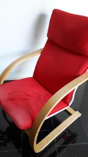 ikea sessel rot kaufen gebraucht und g nstig. Black Bedroom Furniture Sets. Home Design Ideas