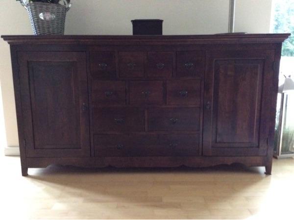 sideboard massiv neu und gebraucht kaufen bei. Black Bedroom Furniture Sets. Home Design Ideas