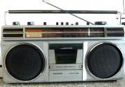 Siemens Kofferradio zu