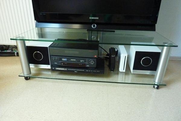 spectral tv glastisch in wiesloch phono tv videom bel kaufen und verkaufen ber private. Black Bedroom Furniture Sets. Home Design Ideas