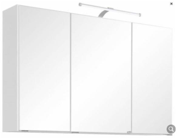 Spiegelschrank, neu, zusammengebaut, günstig abzugeben in