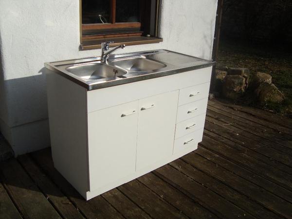 sp lenschrank mit armatur in k mmersbruck sp len. Black Bedroom Furniture Sets. Home Design Ideas