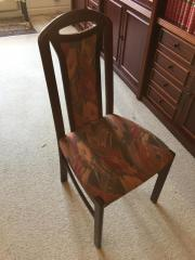 Stühle aus Mahagoni