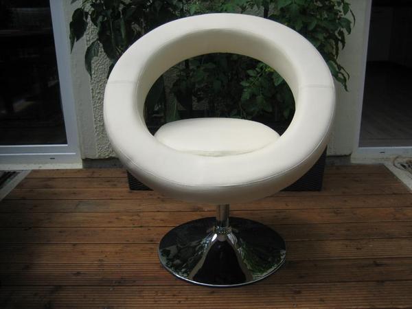 stuhl lounge sessel oval rund bistro kunstleder. Black Bedroom Furniture Sets. Home Design Ideas