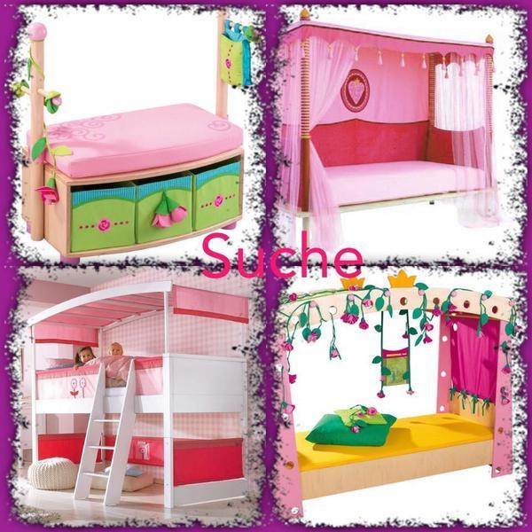 suche haba bett dornr schen matti oder pia in langfurth. Black Bedroom Furniture Sets. Home Design Ideas