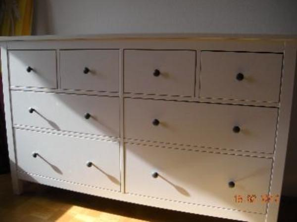 suche ikea hemnes wei schubladenschrank in krefeld ikea. Black Bedroom Furniture Sets. Home Design Ideas