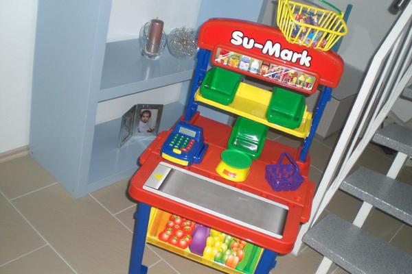 supermarkt kinder spielzeug einkaufsladen in riedstadt sonstiges kinderspielzeug kaufen und. Black Bedroom Furniture Sets. Home Design Ideas