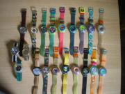 Swatch-Uhren aus