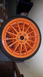 Tec Felgen Orange