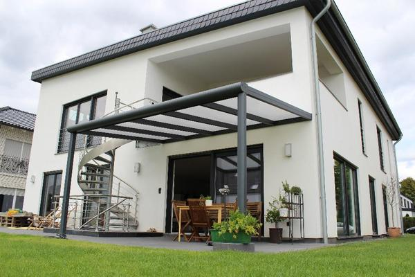 terrassen berdachung alu vsg klarglas 4 x 3 m alles inklusive in bad mergentheim sonstiges. Black Bedroom Furniture Sets. Home Design Ideas