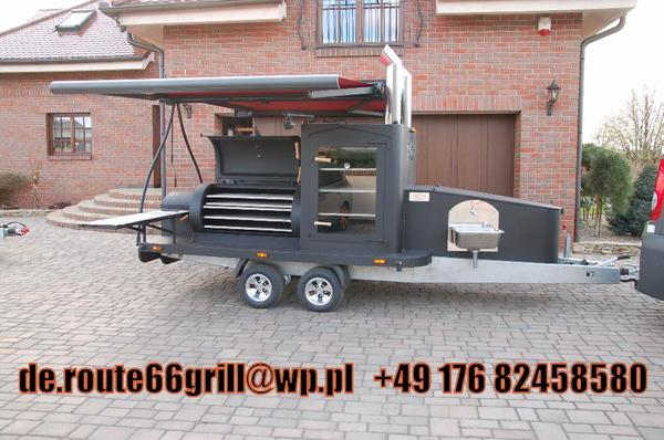texas 2 xxl mobiler smoker bbq grill absolutes hit in. Black Bedroom Furniture Sets. Home Design Ideas