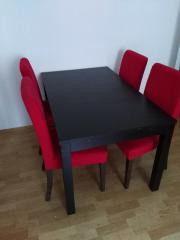 Tisch (Schwarz) und 4 Stühle (Rot) IKEA INGATORP / HENRIKSDAL RÄUMUNGSVERKAUF WEGEN UMZUG Tisch (Schwarz) und 4 Stühle (Rot) IKEA INGATORP / HENRIKSDAL ... 239,- D-80331München Altstadt-Lehel Heute, 15:51 Uhr, München Altstadt-Lehel - Tisch (Schwarz) und 4 Stühle (Rot) IKEA INGATORP / HENRIKSDAL RÄUMUNGSVERKAUF WEGEN UMZUG Tisch (Schwarz) und 4 Stühle (Rot) IKEA INGATORP / HENRIKSDAL