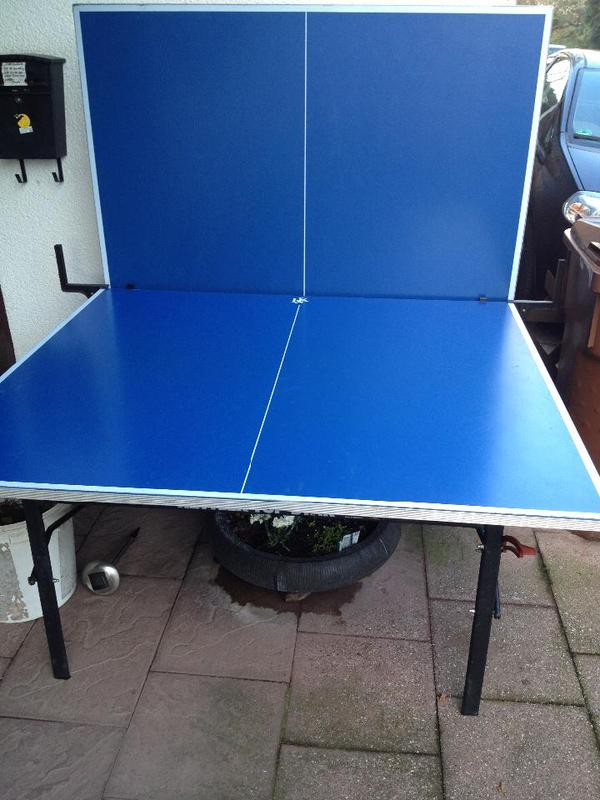 tischtennisplatte kettler 39 top star 39 outdoor in koblenz. Black Bedroom Furniture Sets. Home Design Ideas