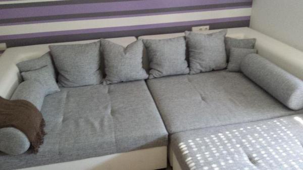 tolle gro e wohnlandschaft selbstabholung in kornwestheim polster sessel couch kaufen und. Black Bedroom Furniture Sets. Home Design Ideas