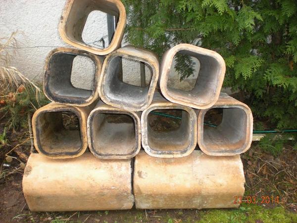 tonsteine schamotterohr in eschbach sonstiges material f r den hausbau kaufen und verkaufen. Black Bedroom Furniture Sets. Home Design Ideas
