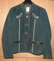 Trachten Jacke Lederjacke