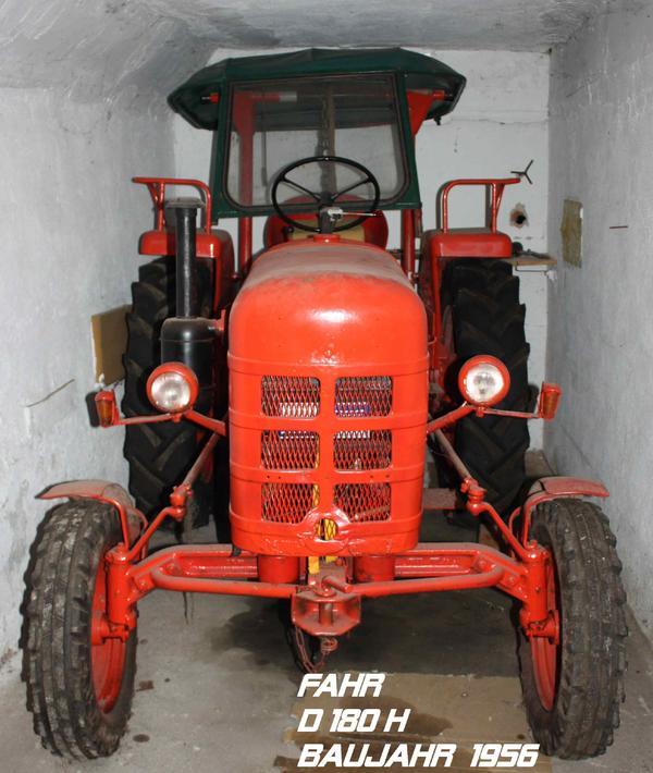 traktor 39 fahr d 180 h 39 bj 1956 in engen traktoren. Black Bedroom Furniture Sets. Home Design Ideas