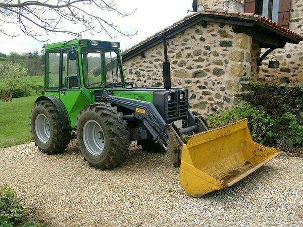traktor schlepper holder a60 frontlader u schaufel in. Black Bedroom Furniture Sets. Home Design Ideas